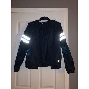 Forever 21 reflective windbreaker jacket
